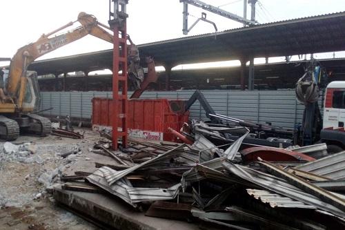 Hurdacı Arnavutköy Bina Yıkımı Fabrika Sökümü
